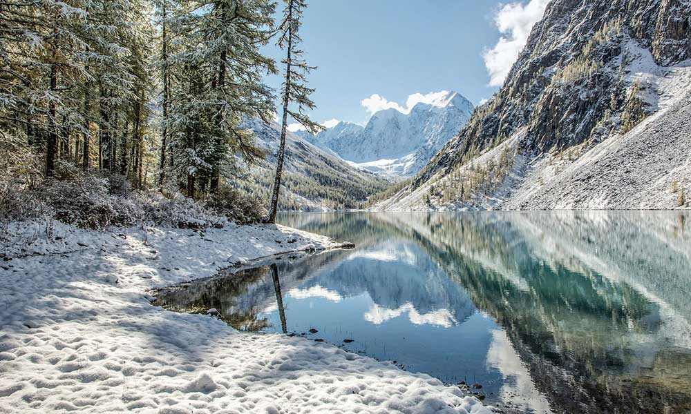 Chaga Altai Lake