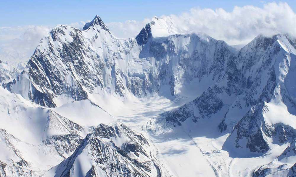 Snowy Peaks of Altai