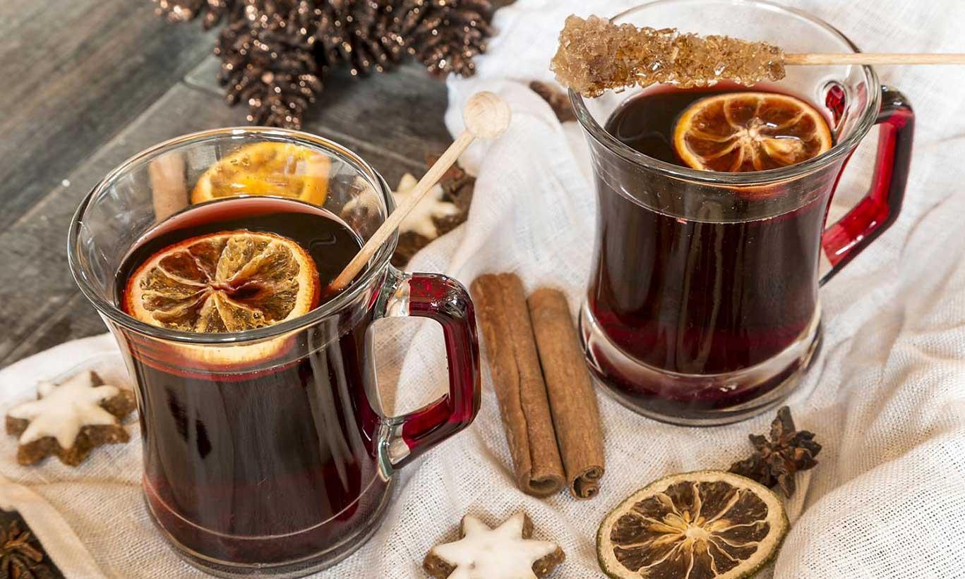 Ginger-Lemon Chaga Brew